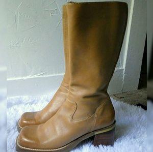 MIA Chunky Heel Boots